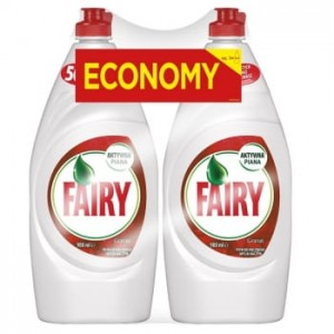 PŁYN DO NACZYŃ FAIRY GRANAT 900ML - 2 SZT.