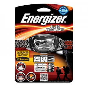 LATARKA CZOŁOWA ENERGIZER 3 LED HEADLIGHT